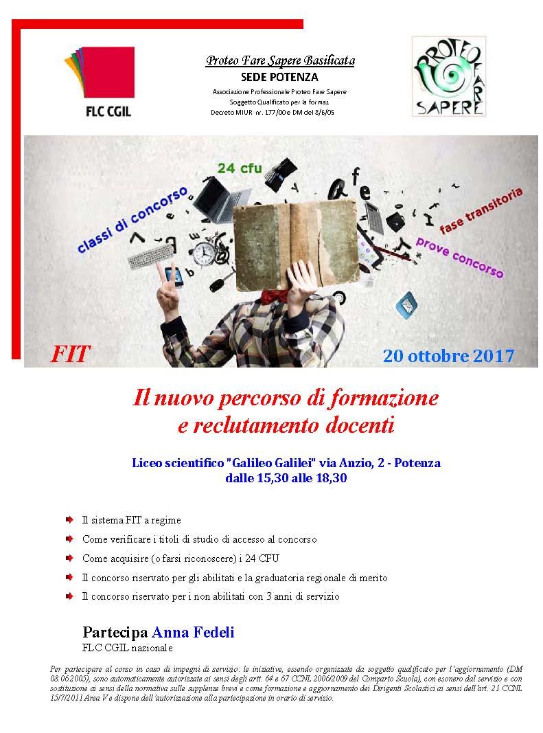 a24a23b5c55d FIT Il nuovo percorso di formazione e reclutamento docenti